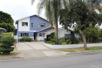 La Habra Single Family Home For Sale: 1910 E Francis Avenue