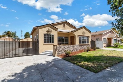 Lynwood Single Family Home For Sale: 3583 Burton Avenue