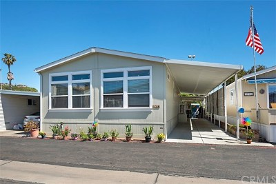 San Clemente Mobile Home For Sale: 114 Bay Drive