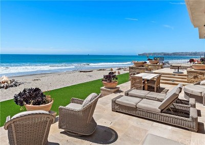 Dana Point Single Family Home For Sale: 35105 Beach Road