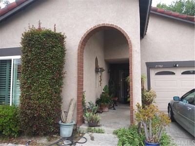 Mission Viejo Single Family Home For Sale: 27702 Via Granados