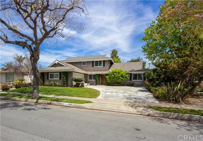 Tustin Single Family Home For Sale: 1321 E 1st Street