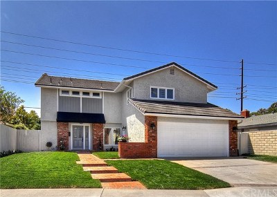 Huntington Beach Single Family Home For Sale: 20541 Suburbia Lane