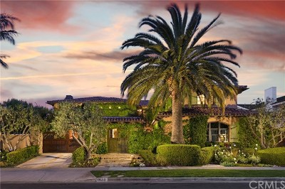 Newport Beach Single Family Home For Sale: 1630 Antigua