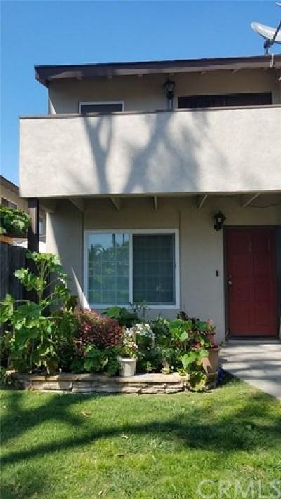 Orange County Condo/Townhouse For Sale: 521 S Lyon Street #136