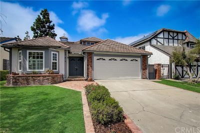 Laguna Niguel Single Family Home Active Under Contract: 28181 Bluebell Drive