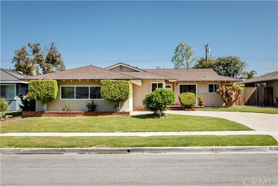 North Tustin, Santa Ana Single Family Home For Sale: 18121 Romelle Avenue