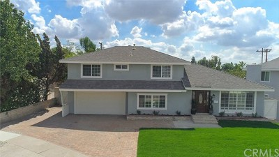 Yorba Linda Single Family Home For Sale: 18752 Avolinda Drive