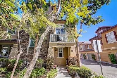 Ladera Ranch Condo/Townhouse For Sale: 43 Garrison