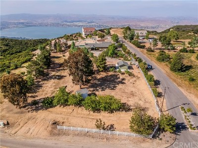 Lake Elsinore Single Family Home For Sale: 34615 Hacienda Road