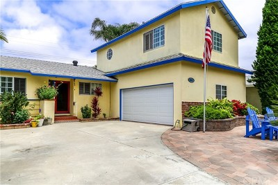Huntington Beach Single Family Home For Sale: 5191 Sparrow Drive