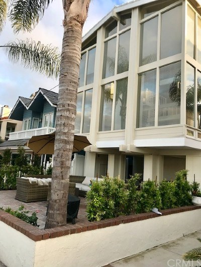 Newport Beach Rental For Rent: 337 E Bay Front #A