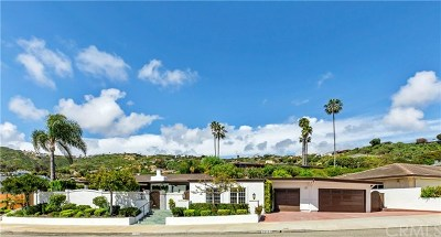 Dana Point Single Family Home For Sale: 32702 Seven Seas Drive