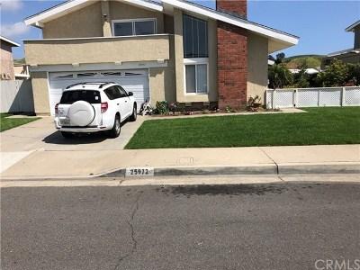 San Juan Capistrano Single Family Home For Sale: 25972 Via Del Rey