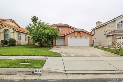 Chino Single Family Home For Sale: 6534 Issac Court