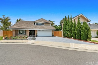 Huntington Beach Single Family Home For Sale: 17901 Denvale Circle