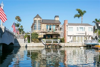 Newport Beach Single Family Home For Sale: 126 Grand Canal