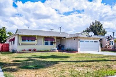 Garden Grove Single Family Home For Sale: 9161 Carl Lane