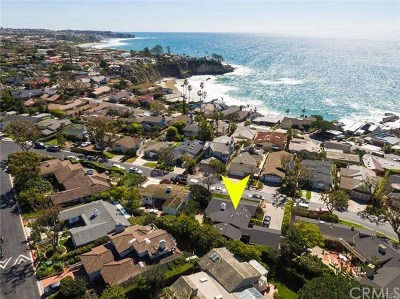Laguna Beach Single Family Home For Sale: 3 S Portola