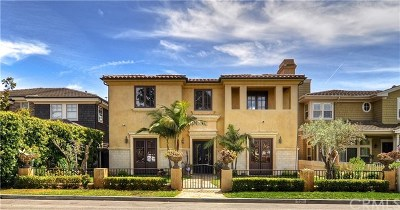 Newport Beach Single Family Home For Sale: 526 Riverside Avenue