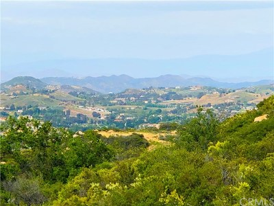 Murrieta Residential Lots & Land For Sale: Corte Vista Gusta