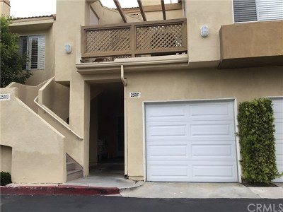 Laguna Niguel  Condo/Townhouse For Sale: 25001 La Mangusta