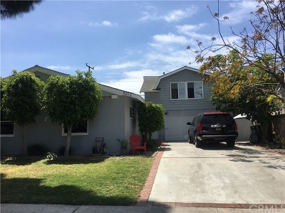 Huntington Beach Single Family Home For Sale: 8272 Lambert Drive