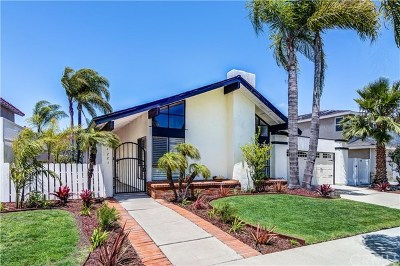 Huntington Beach Single Family Home For Sale: 4221 Silliman Drive