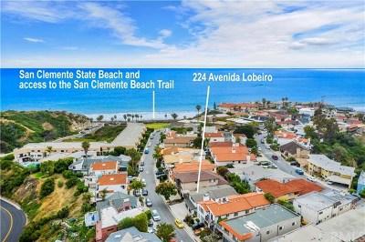 San Clemente Single Family Home For Sale: 224 Avenida Lobeiro