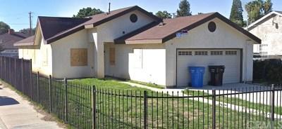 Pomona Single Family Home For Sale: 1387 S Thomas Street