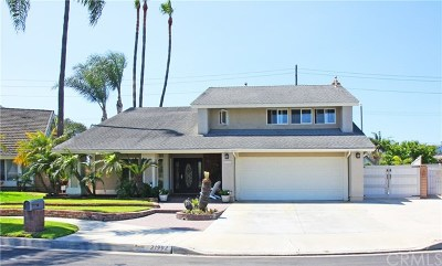 Huntington Beach Single Family Home For Sale: 21992 Summerwind Lane