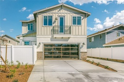 Costa Mesa Single Family Home For Sale: 166 Rochester St. #Unit A