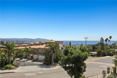 Dana Point Condo/Townhouse For Sale: 33701 Blue Lantern Street #2
