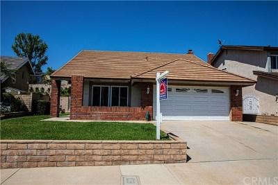 Brea Single Family Home For Sale: 307 Winding Lane
