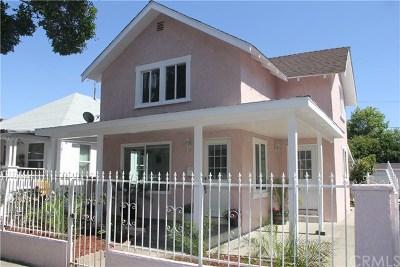 Santa Ana Single Family Home For Sale: 612 E 2nd Street