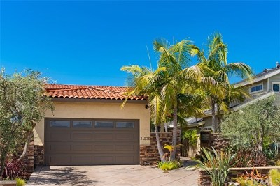 Dana Point Single Family Home For Sale: 34275 Via Lopez
