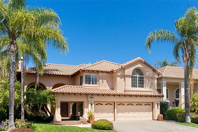 Rancho Santa Margarita Single Family Home For Sale: 21261 Hillgate Circle