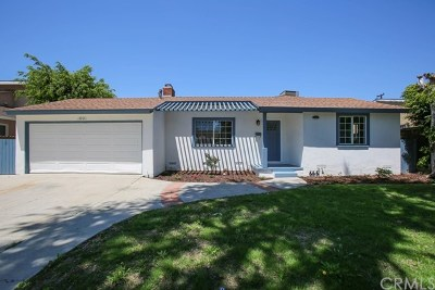 Fullerton Single Family Home For Sale: 1001 S Woods Avenue