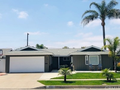 North Tustin, Santa Ana Single Family Home For Sale: 1518 E Avalon Avenue