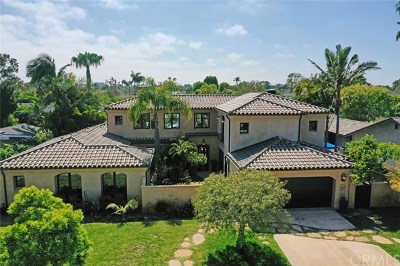 Newport Beach Single Family Home For Sale: 1633 Highland Drive