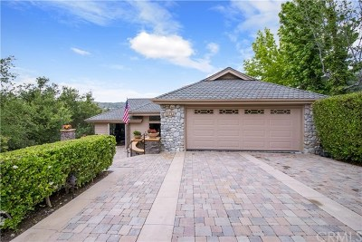 Single Family Home For Sale: 31711 Via Perdiz
