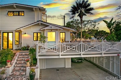 Laguna Beach Single Family Home For Sale: 31502 Shrewsbury Drive