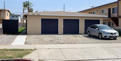 Torrance Multi Family Home For Sale: 1536 W 207th Street