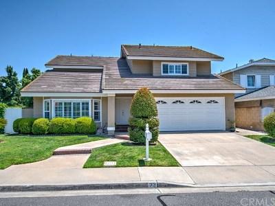 Irvine Single Family Home For Sale: 23 Bull Run