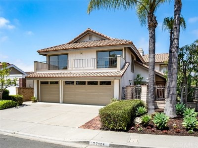 Mission Viejo Single Family Home For Sale: 27101 Pinario