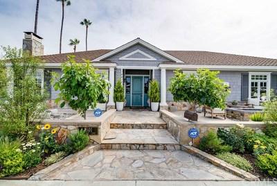 Newport Beach Single Family Home For Sale: 1601 Cornwall Lane