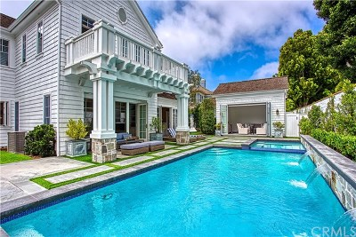 Newport Beach Single Family Home For Sale: 12 Gleneagles Drive