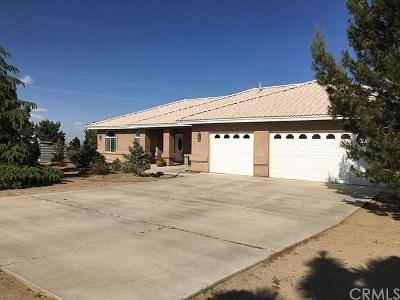 Phelan Single Family Home For Sale: 9433 Middleton Road