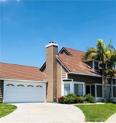 Mission Viejo Single Family Home For Sale: 28045 Blandings