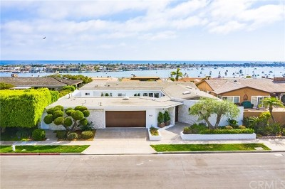 Corona Del Mar Single Family Home For Sale: 1921 Sabrina